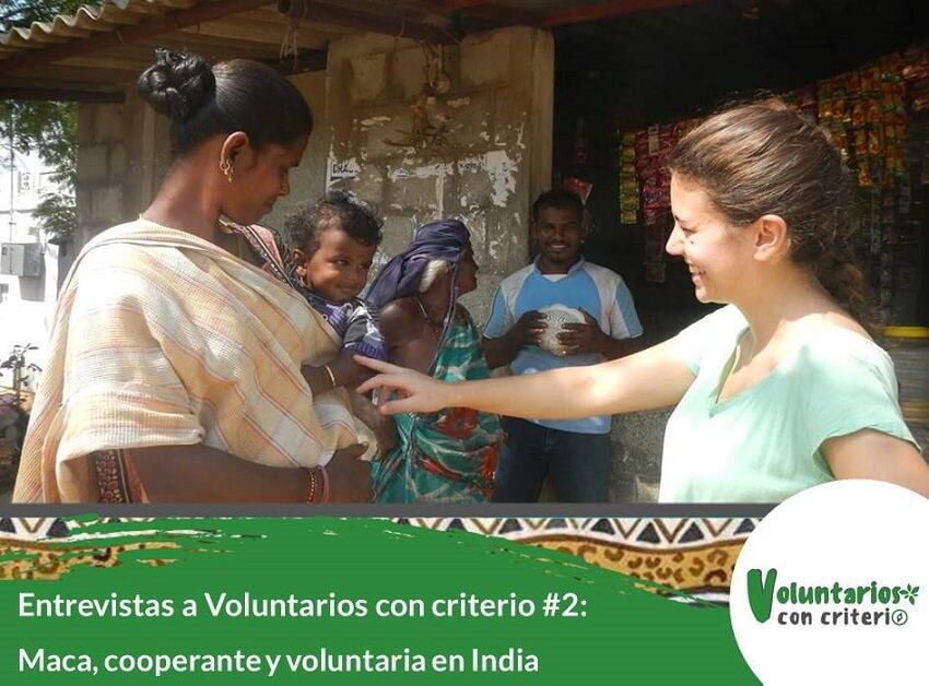 voluntariado con niños en India