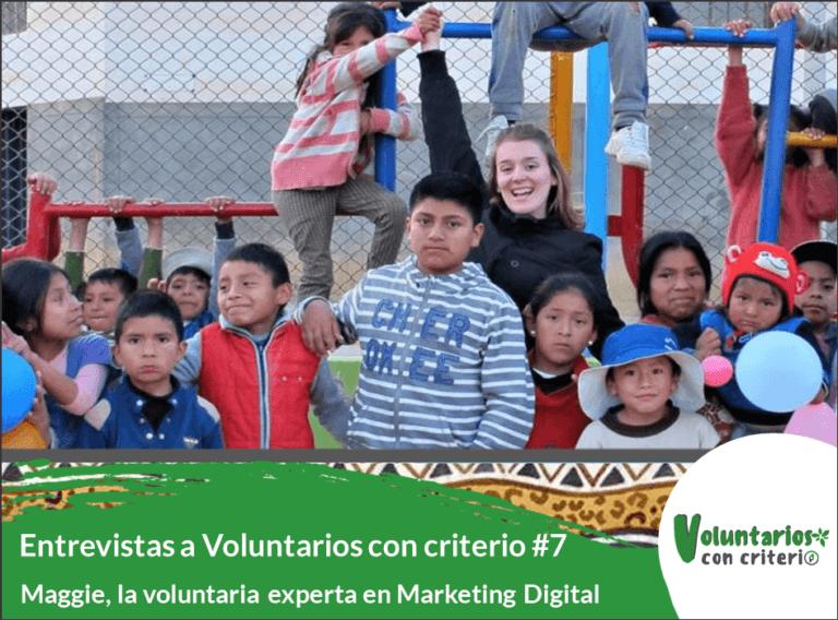 voluntariado en Perú de una experta en Marketing digital