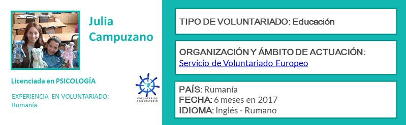 opinión sobre el Servicio de Voluntariado Europeo