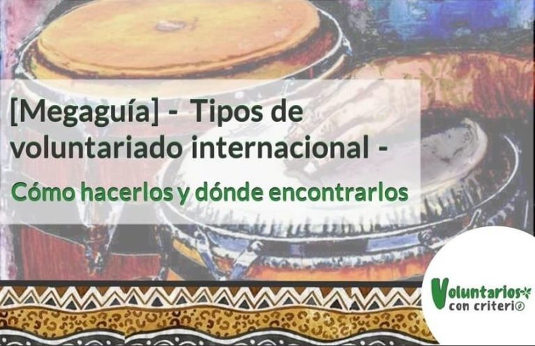 Tipos de voluntariado internacional