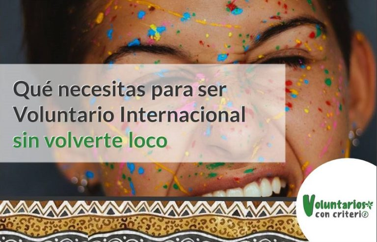 ser voluntario internacional