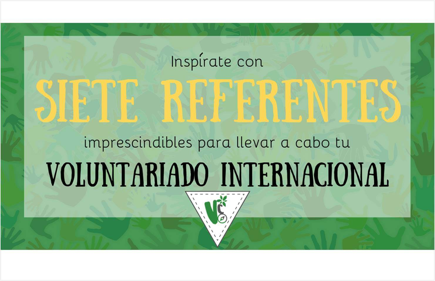 referentes del voluntariado internacional