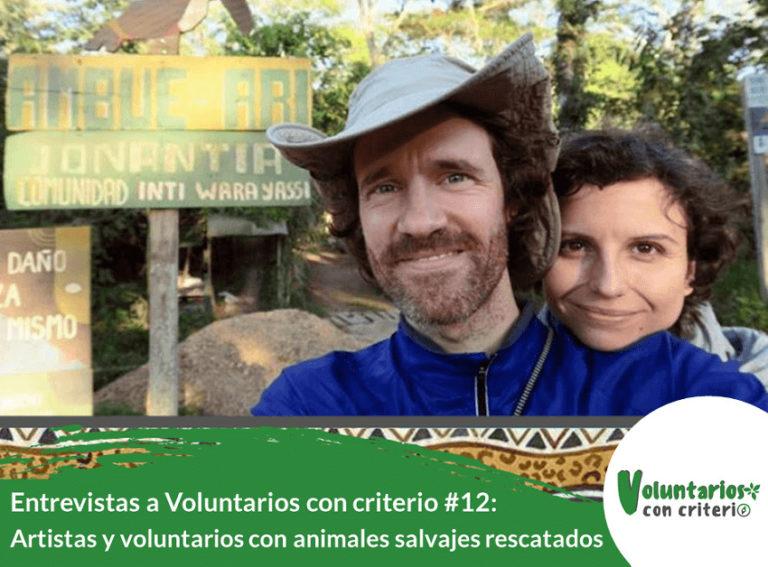 voluntariado con animales salvajes