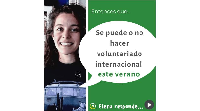 voluntariado verano 2021